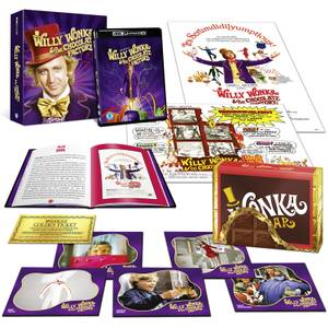Willy Wonka & The Chocolate Factory Zavvi Exclusive Ultimate Collector's Edition - 4K Ultra HD