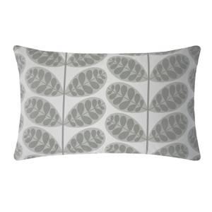 Orla Kiely Botanica Stem Standard Pillowcase Pair - Grey