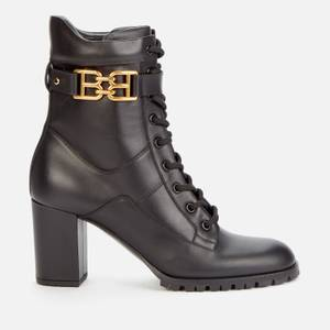 Bally Women's Gioele Leather Lace Up Boots - Black