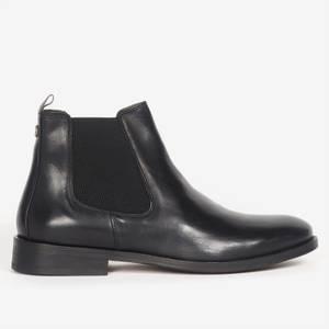 Barbour Men's Bedlington Leather Chelsea Boots - Black