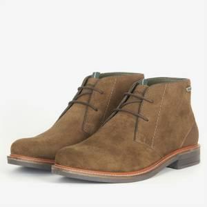 Barbour Men's Readhead Suede Desert Boots - Olive