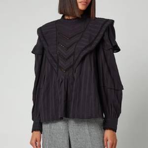 Isabel Marant Etoile Women's Reign Top - Black