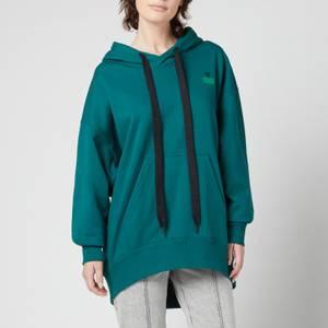 Isabel Marant Etoile Women's Miline Hooded Top - Green