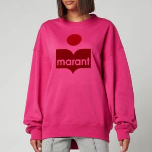 Isabel Marant Etoile Women's Mindy Sweatshirt - Neon Pink