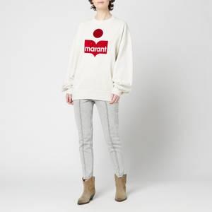 Isabel Marant Etoile Women's Mindy Sweatshirt - Ecru