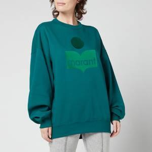 Isabel Marant Etoile Women's Mindy Sweatshirt - Green