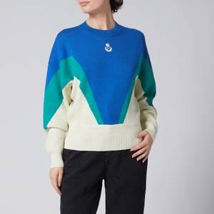 Isabel Marant Étoile Women's Agathe Sweater - Electric Blue