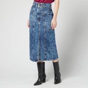 Isabel Marant Etoile Women's Toria Skirt - Blue