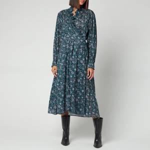 Isabel Marant Etoile Women's Maelys Dress - Dark Green