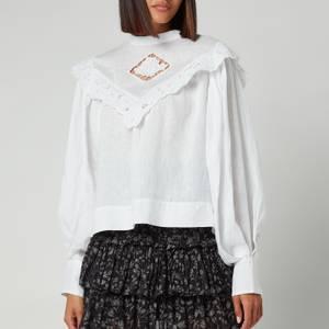 Isabel Marant Etoile Women's Elija Shirt - White