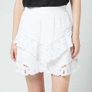 Isabel Marant Etoile Women's Enali Skirt - White
