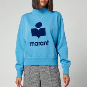 Isabel Marant Etoile Women's Moby Sweatshirt - Blue