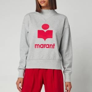Isabel Marant Etoile Women's Moby Sweatshirt - Grey