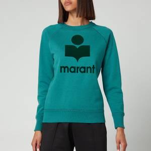 Isabel Marant Etoile Women's Milly Sweatshirt - Mint Green