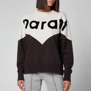 Isabel Marant Étoile Women's Houston Sweatshirt - Faded Black