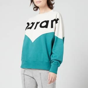 Isabel Marant Etoile Women's Houston Sweatshirt - Mint Green