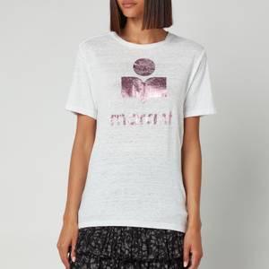 Isabel Marant Etoile Women's Zewel T-Shirt - Pink/White