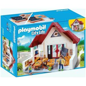 Playmobil City Life School House with Movable Clock Hands (6865)