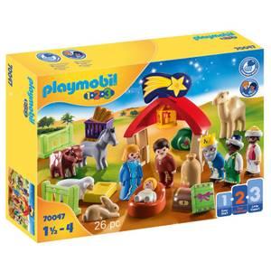 Playmobil 1.2.3 Christmas Manger (70047)