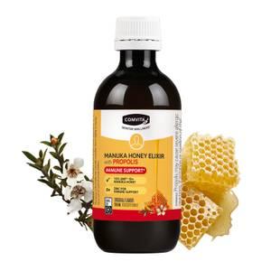 Immune Support Manuka Honey and Propolis Elixir 200ml