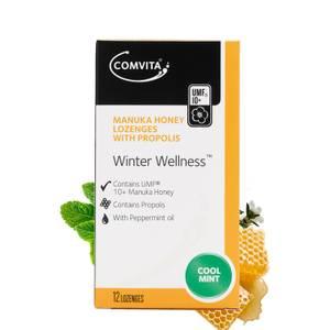 Manuka Honey Lozenges with Propolis (Coolmint) 12c