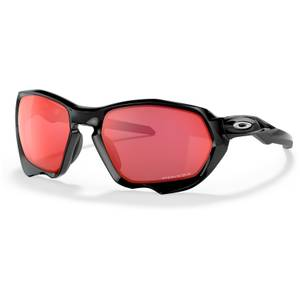 Oakley Plazma Sunglasses - Black Ink/Prizm Trail Torch