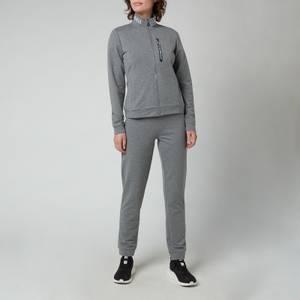 Emporio Armani EA7 Women's Train Track Suit - Medium Mel Grey