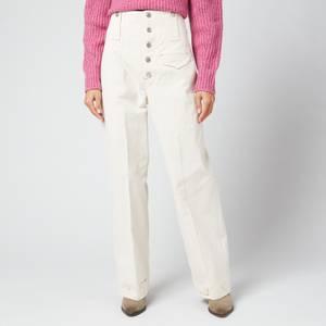 Isabel Marant Women's Darlena Trousers - Ecru