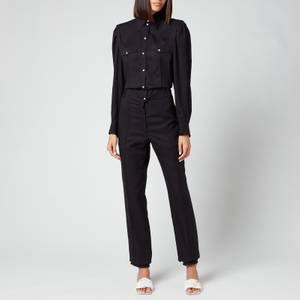 Isabel Marant Women's Teal Jumpsuit - Black