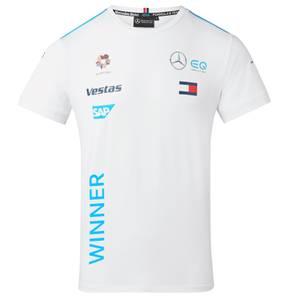 2021 Unisex White Team Race Winners' T-Shirt