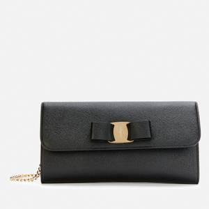 Salvatore Ferragamo Women's Vara Mini Bag - Black