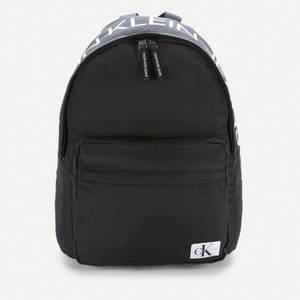 Calvin Klein Unisex Institutional Logo Backpack - Ck Black - One Size