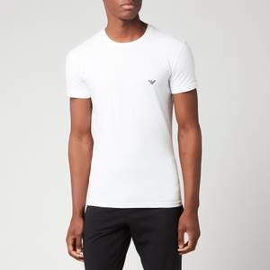 Emporio Armani Loungewear Men's Slim Fit Crewneck T-Shirt - White