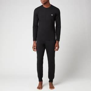 Emporio Armani Loungewear Men's Pyjama Set - Black