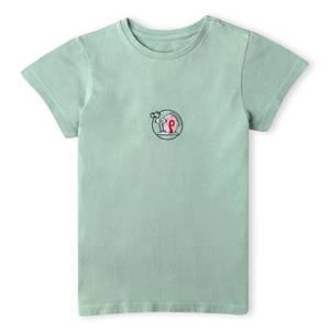 Spongebob Squarepants Gary Floating Bubble Kids' T-Shirt - Mint Acid Wash