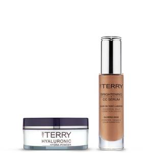 By Terry Hyaluronic Hydra-Powder and Cellularose CC Serum - No.4 Sunny Flash Bundle