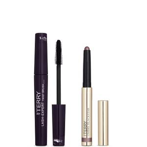 By Terry Lash-Expert Twist Brush Mascara Black and Ombre Blackstar Eye Shadows - 5. Misty Rock Bundle