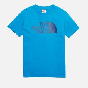The North Face Boys' Youth Short Sleeve Easy T-Shirt - Blue