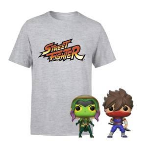 Marvel Vs Capcom T-Shirt & Pop Bundle