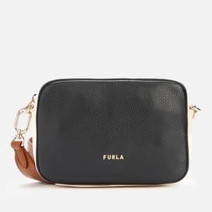 Furla Women's Real Mini Camera Cross Body Bag - Black/Multi
