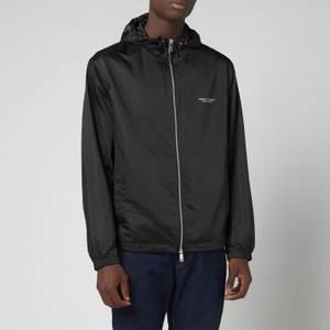 Armani Exchange Men's Windbreaker Jacket - Black