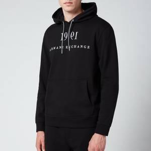 Armani Exchange Men's 1991 Pullover Hoodie - Black