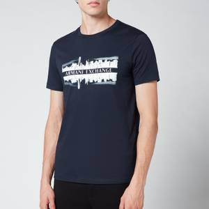 Armani Exchange Men's Graphic T-Shirt - Navy