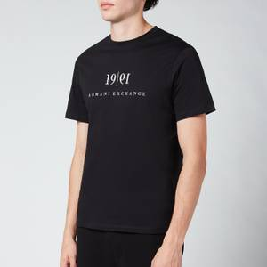 Armani Exchange Men's 1991 Logo T-Shirt - Black