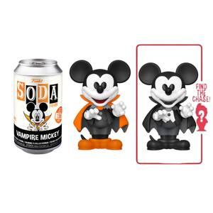 Disney Vampire Mickey Mouse Vinyl Soda