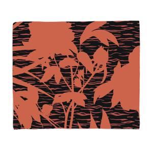 Flowers & Animal Fleece Blanket