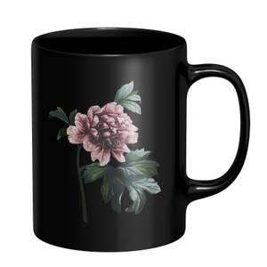 Blush Flower Mug - Black