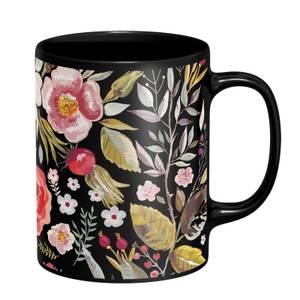 Flowers Mug - Black