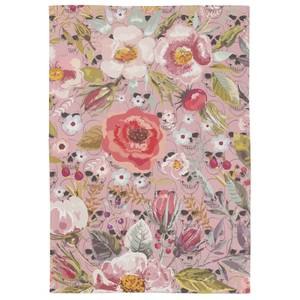Flowers & Skulls Tea Towel