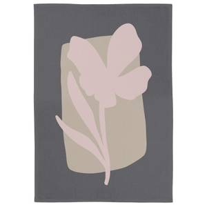 Abstract Natural Flower Tea Towel
